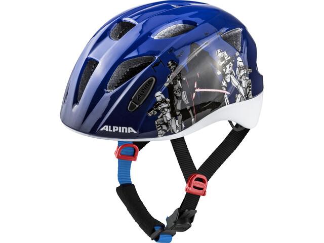 Alpina Ximo Lapset Pyöräilykypärä , musta/monivärinen